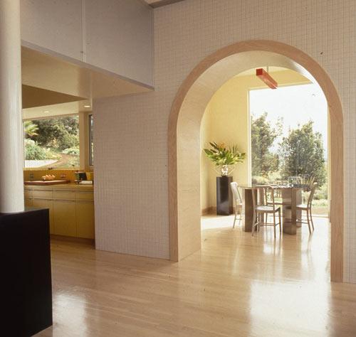 современный дом - гостиная