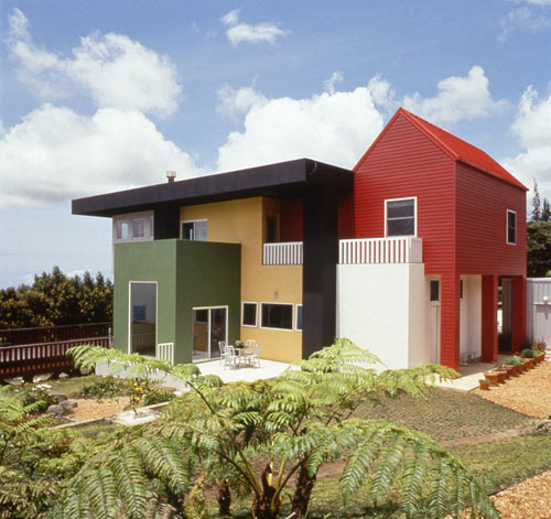 построить современный дом