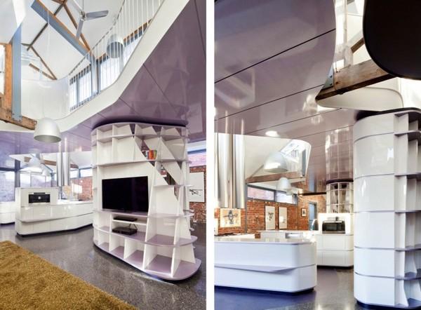 Конюшня, превращенная в замечательный современный дом фото 8