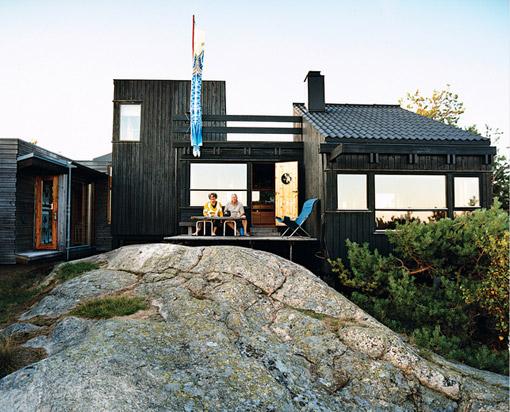 Дом в норвежском стиле фото 1