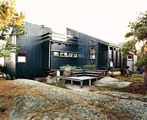 фото домов в норвежском стиле
