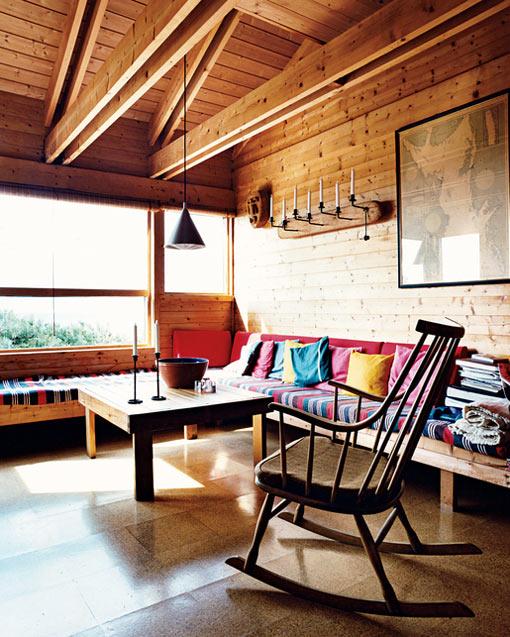 загородный дом в норвежском стиле фото 5