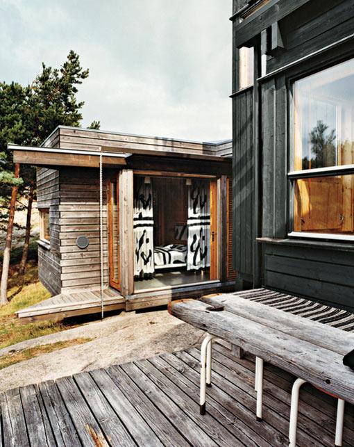 деревянный дом в норвежском стиле фото 3