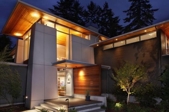 Двухэтажный дом фото 5