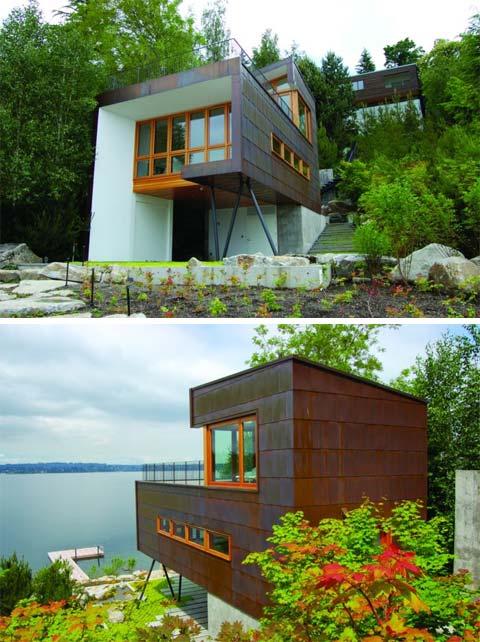 Маленький дом у озера фото 3