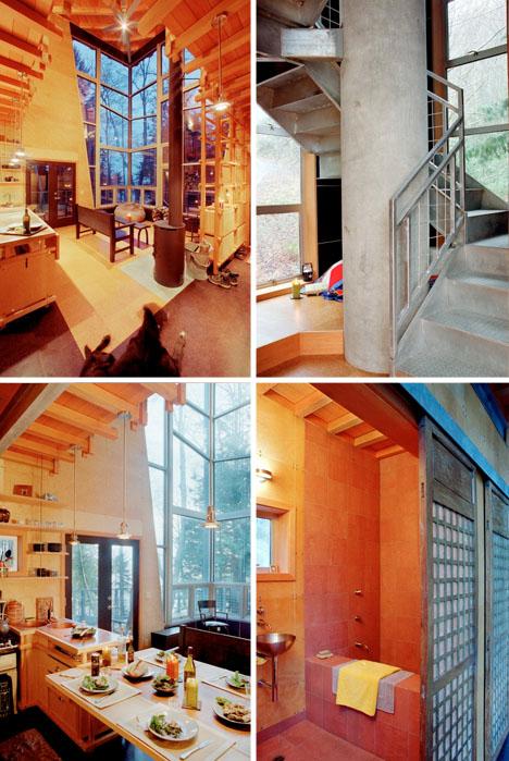 мини-дом с подъемной лестницей фото 2