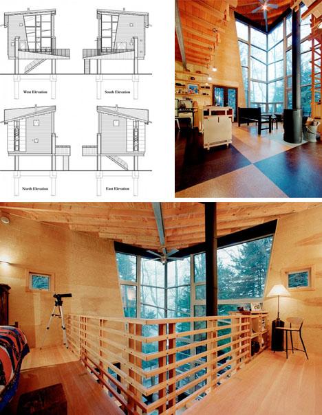 мини-дом с подъемной лестницей фото 3