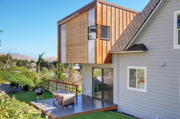 проект - сельский дом с пристройкой фото 5