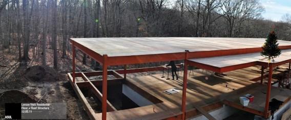 загородный блочный дом - проект Стелл Архитект в Хэмптоне