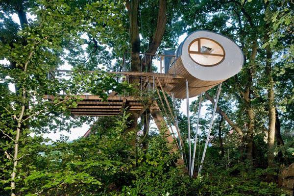 деревянный дом на дереве-3