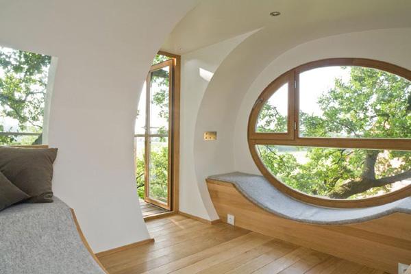 деревянный дом на дереве-7
