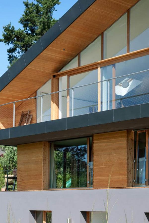частный дом на рельефе фото 5