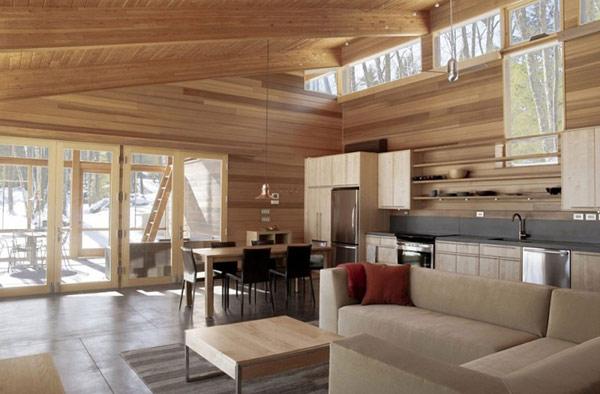 Скромный лесной дом фото 4