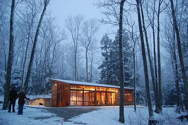 Скромный лесной дом фото 1