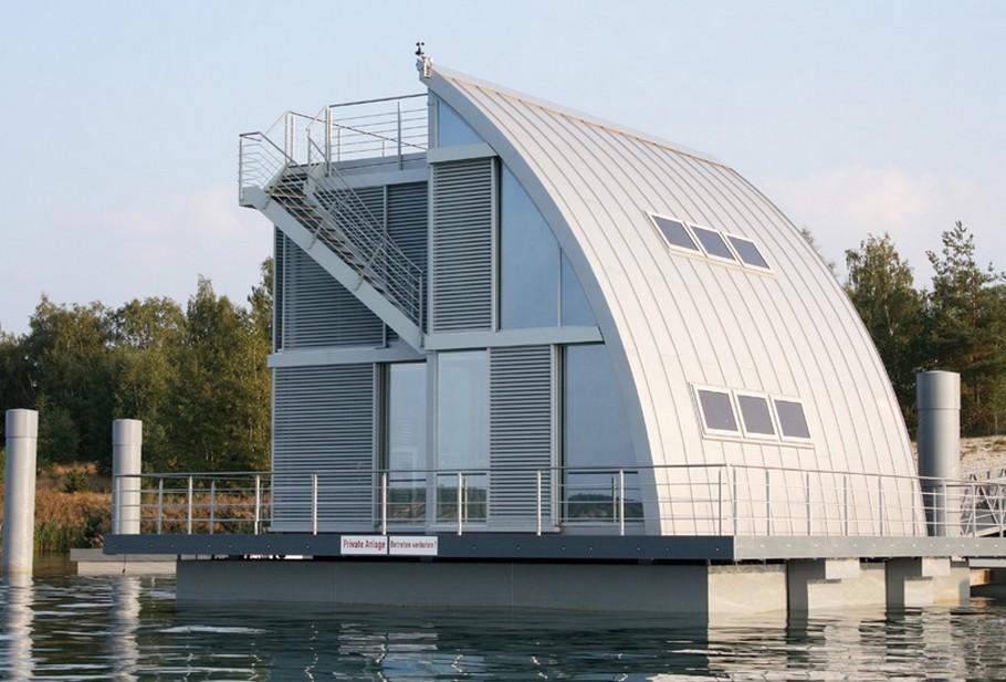 загородный плавающий дом фото 3