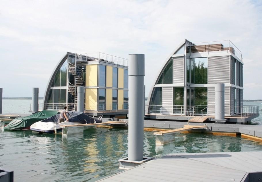 проект современного плавающего дома