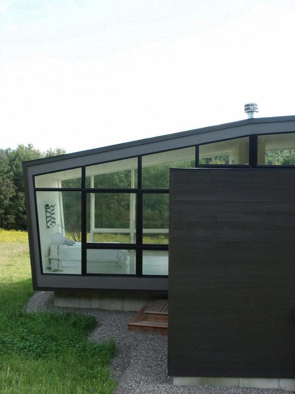Загородный дом в графстве Ренсселаер по проекту David Jay Weiner фото 11