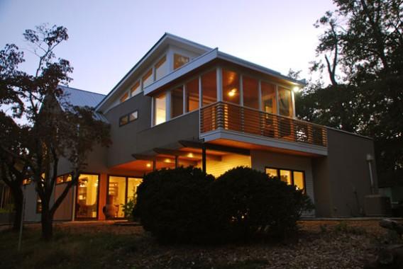 частный дом «платинового» стандарта LEED