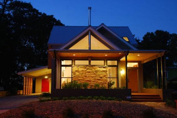 загородный дом «платинового» стандарта LEED