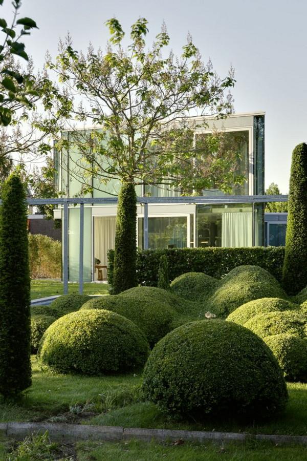 Изящный стеклянный дом фото 3