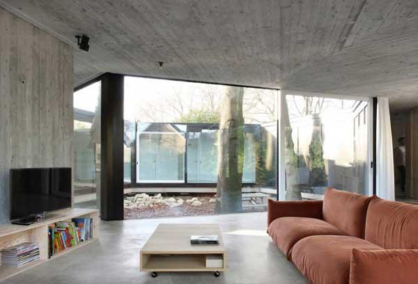 проект дома с окнами на все стороны света