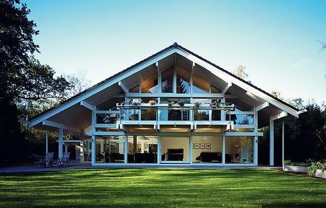 Дом в немецком стиле фото 1