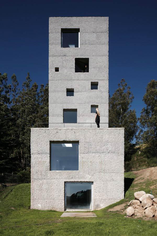 Бетонный дом - проект Маурисио Пезо и Софии фон Эльрихсхаузен