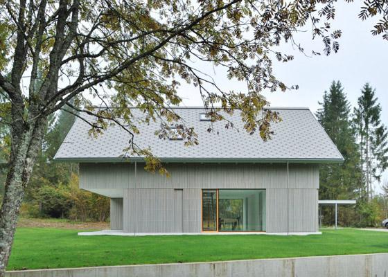 проект дома в альпийском стиле House R