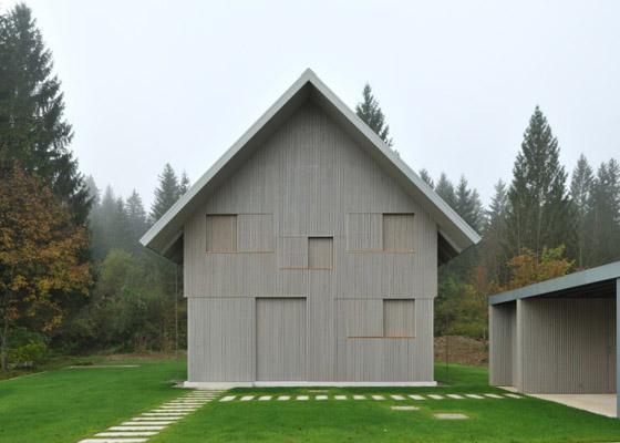 Дом в альпийском стиле фото 1