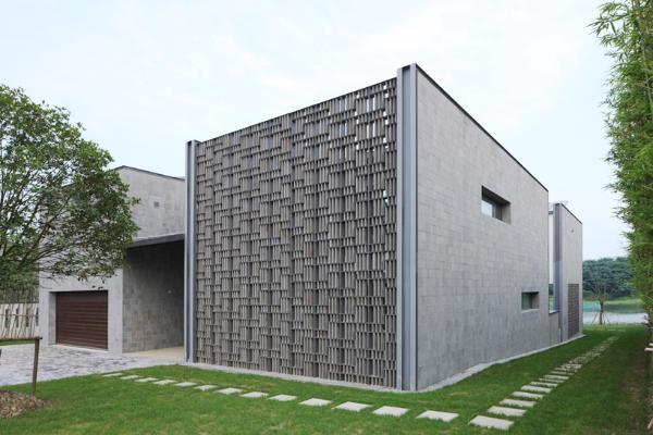 свой дом в китайском стиле по проекту Atelier FCJZ