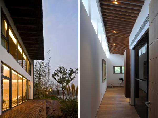 Дом в китайском стиле по проекту Atelier FCJZ фото 1