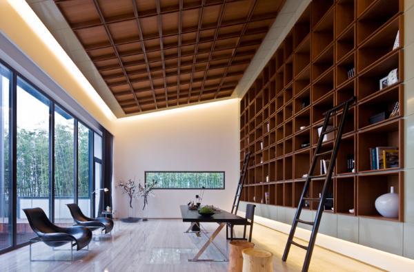 Дом в китайском стиле по проекту Atelier FCJZ фото 7