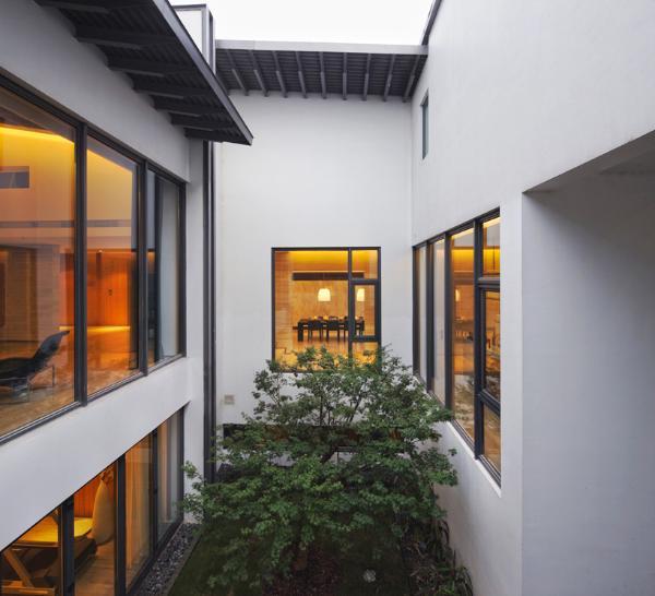 Дом в китайском стиле по проекту Atelier FCJZ фото 6