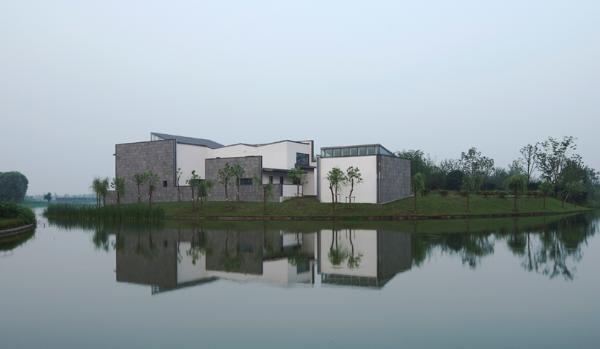 проект дома в китайском стиле по проекту Atelier FCJZ
