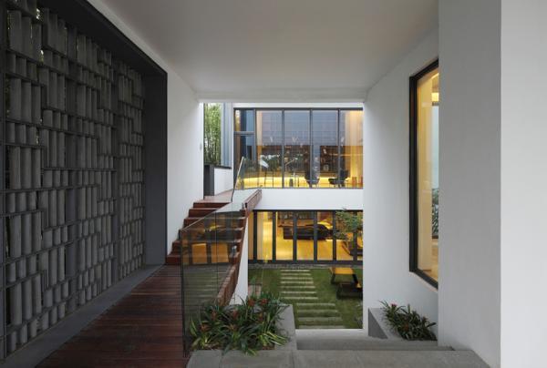 Дом в китайском стиле по проекту Atelier FCJZ фото 5