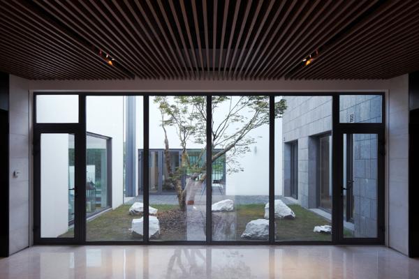 Дом в китайском стиле по проекту Atelier FCJZ фото 3