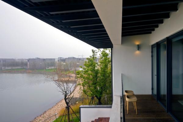 Дом в китайском стиле по проекту Atelier FCJZ фото 2