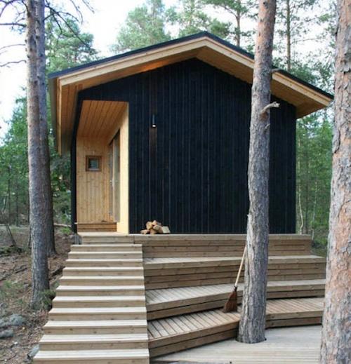 загородный дом в скандинавском стиле по проекту POOK