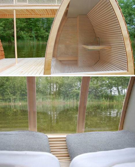 Экологичный дом-катамаран фото 2