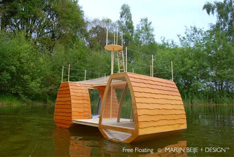 Экологичный дом-катамаран фото 1