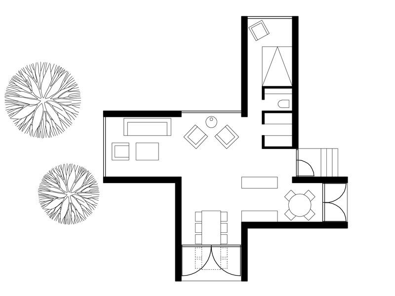 Одноэтажный комфортный дом фото 11