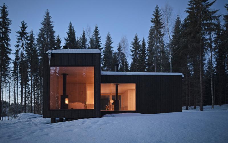 Одноэтажный загородный дом фото 2