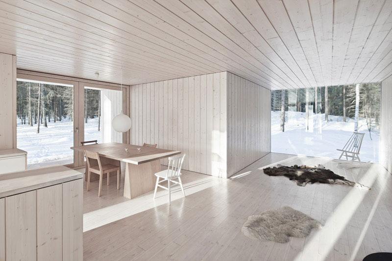 Одноэтажный деревянный дом фото 4