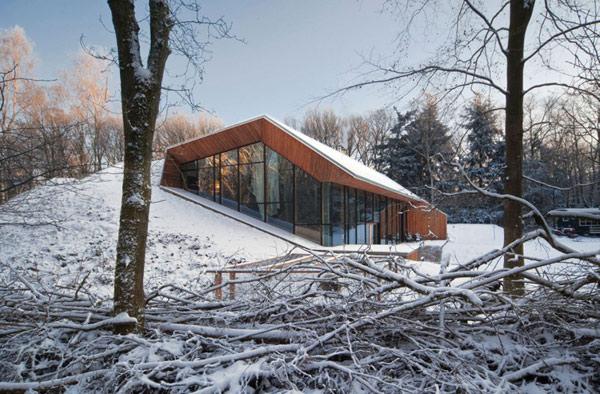 Невероятный дом в горе фото 1