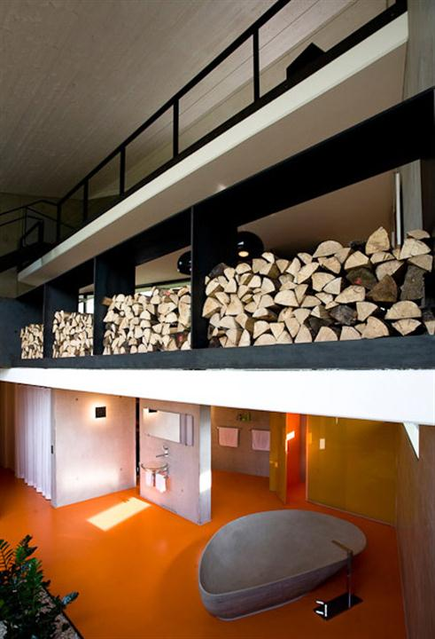 Престижный дом из бетона в современном германском стиле фото 5
