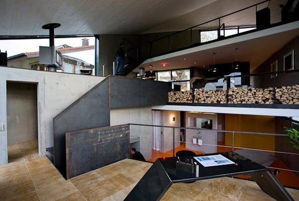 Престижный дом из бетона в современном германском стиле фото 2