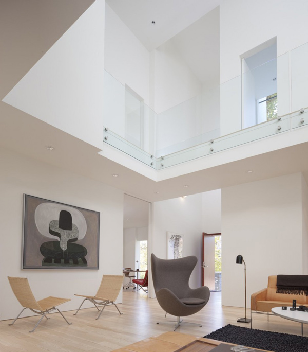 Разноуровневый дом по проекту David Jameson Architect фото 3
