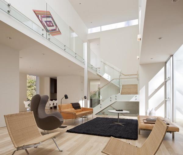 Разноуровневый дом по проекту David Jameson Architect фото 1