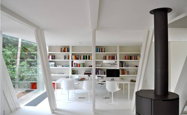 Современный минималистский дом фото 2