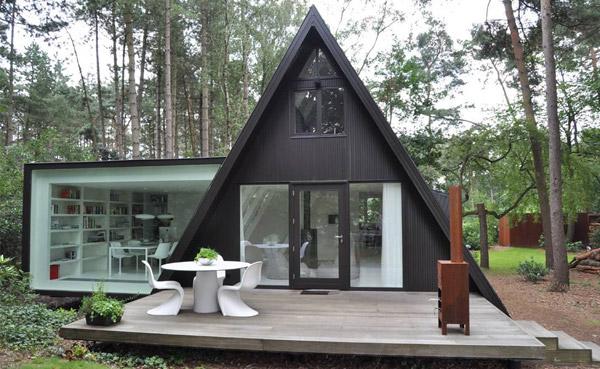 Современный минималистский дом фото 1